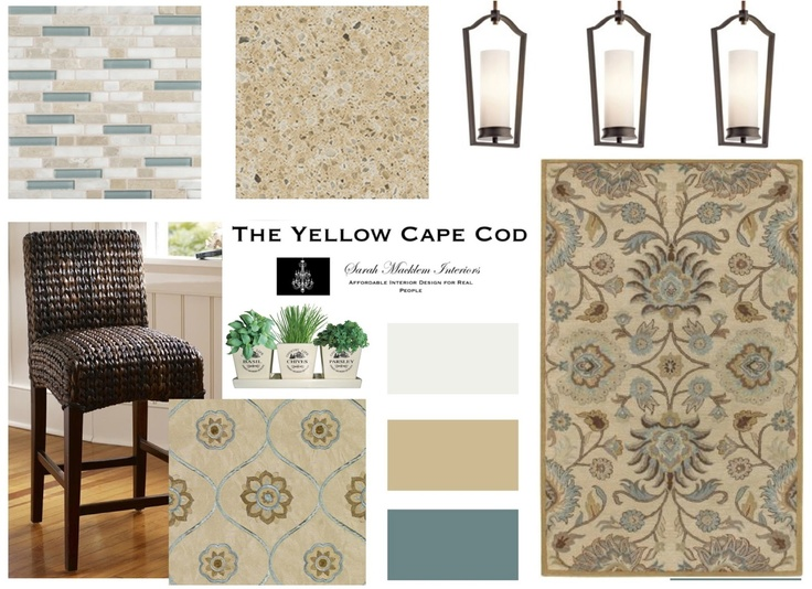 The Yellow Cape Cod: Updated Traditional Style Kitchen/Family Room