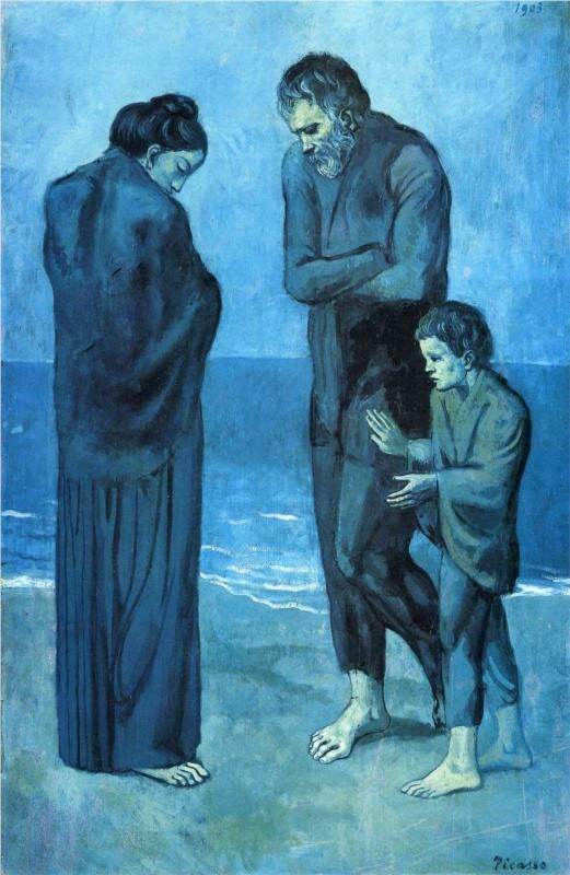 The Tragedy, 1903  Pablo Picasso
