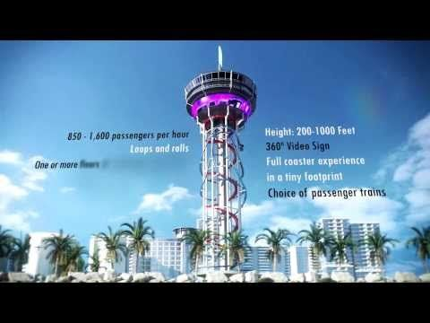 Tallest roller coaster in the world coming to Florida - POLErCoaster rendering - http://rollercoasterhq.net/tallest-roller-coaster-in-the-world-coming-to-florida-polercoaster-rendering/