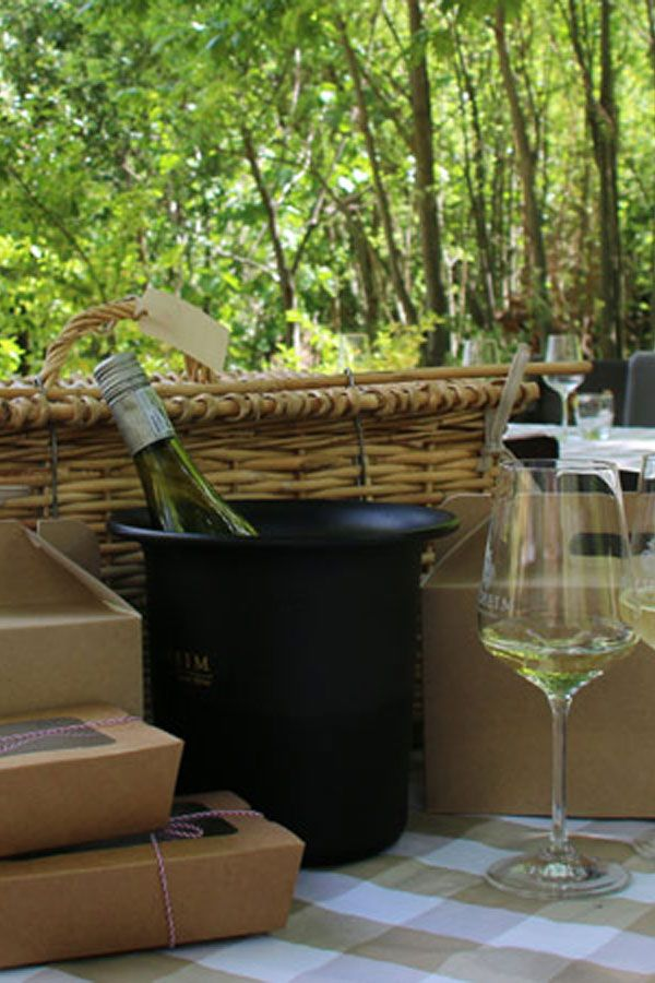 The setting for the Delheim Riverside Gourmet Picnics is stunning, a wonderful discovery.