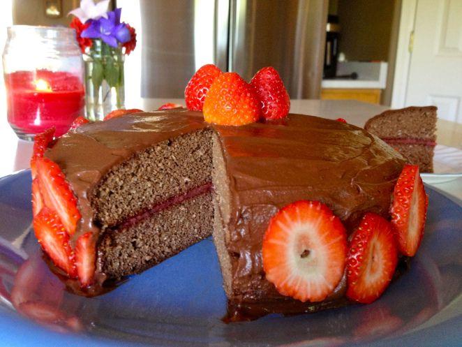 paleo chocolate cake #glutenfree #grainfree #paleo