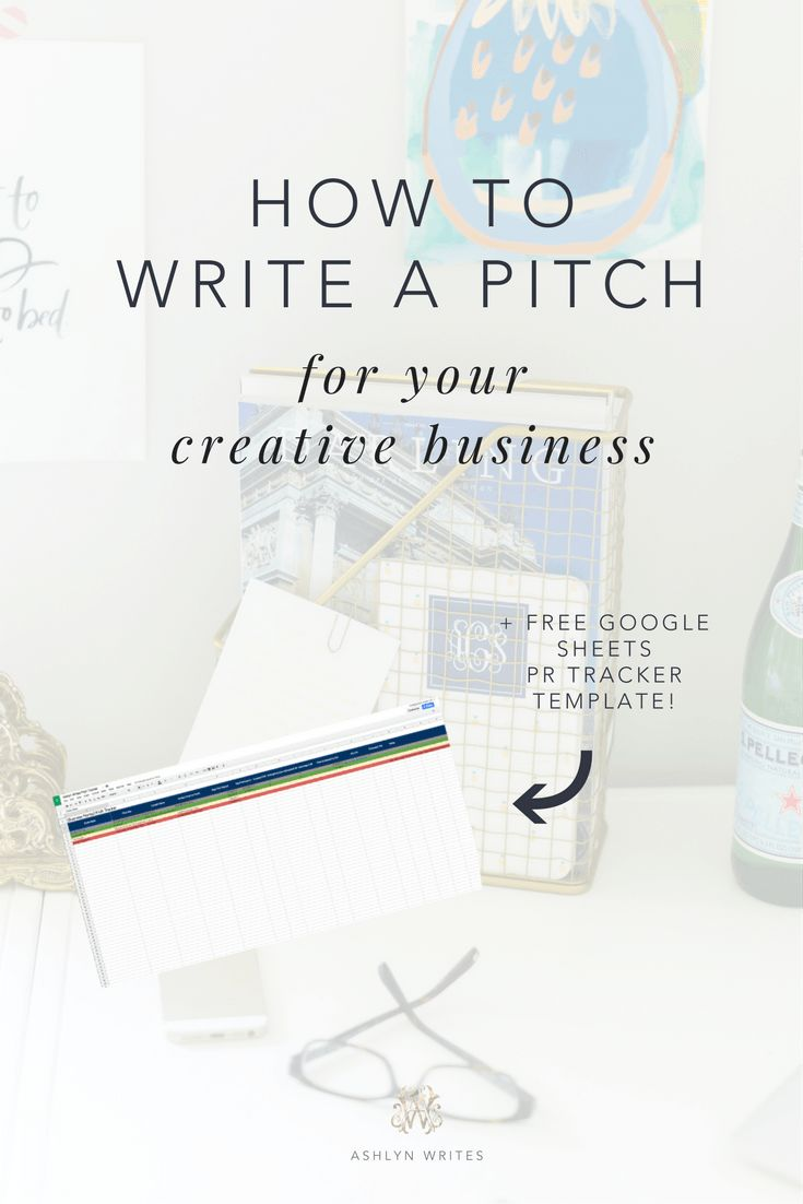How to Write a Pitch for Your Creative Business by copywriter for creatives Ashlyn Carter of Ashlyn Writes