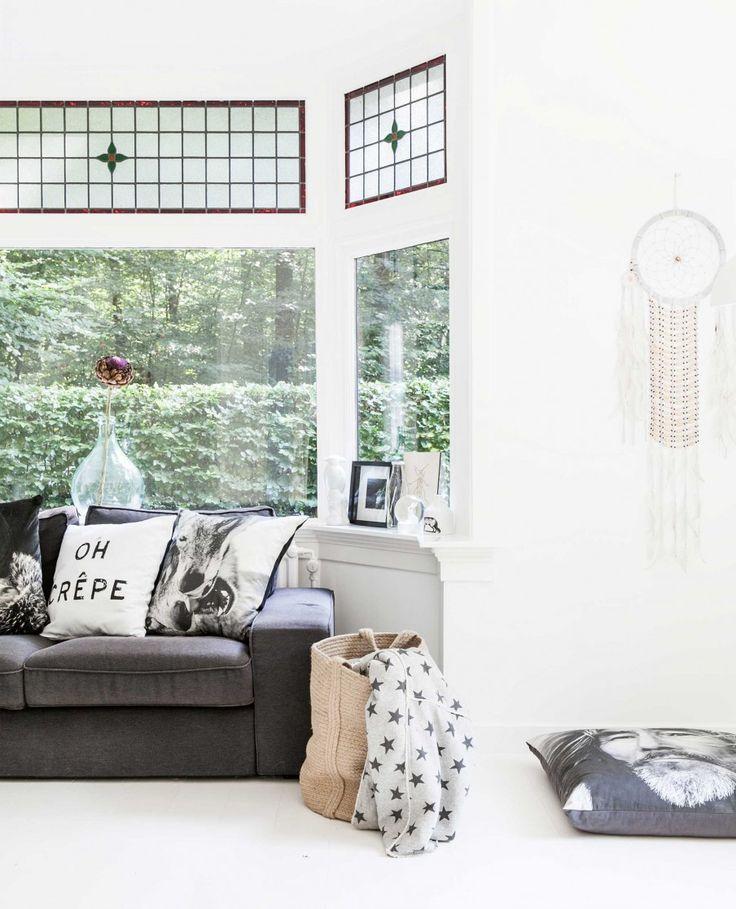 Glas in lood ramen | windows | vtwonen 05-2017 | Styling en fotografie Sonja Velda