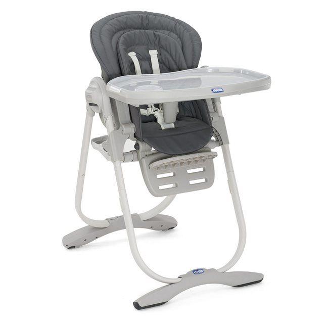 Chaise haute Polly Magic Graphite - Chicco