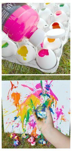 Cuadro colectivo de recuerdo. A lanzar huevos!!!