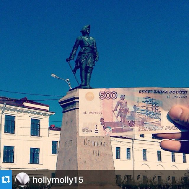 """#Repost @hollymolly15 with @repostapp.・・・У всех, кто был в Архангельске должна быть такая фотка!"""