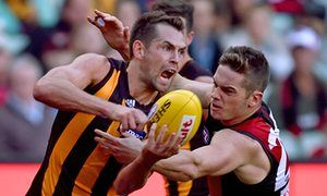 A pillar of strength in Hawthorn's latest golden era, Luke Hodge will lead from the front again in 2015.
