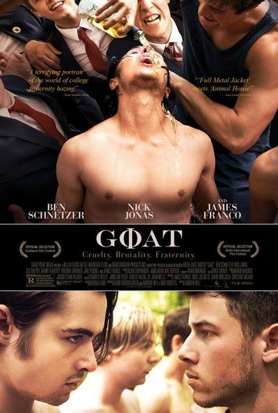Goat movie trailer with Nick Jonas and James Franco.