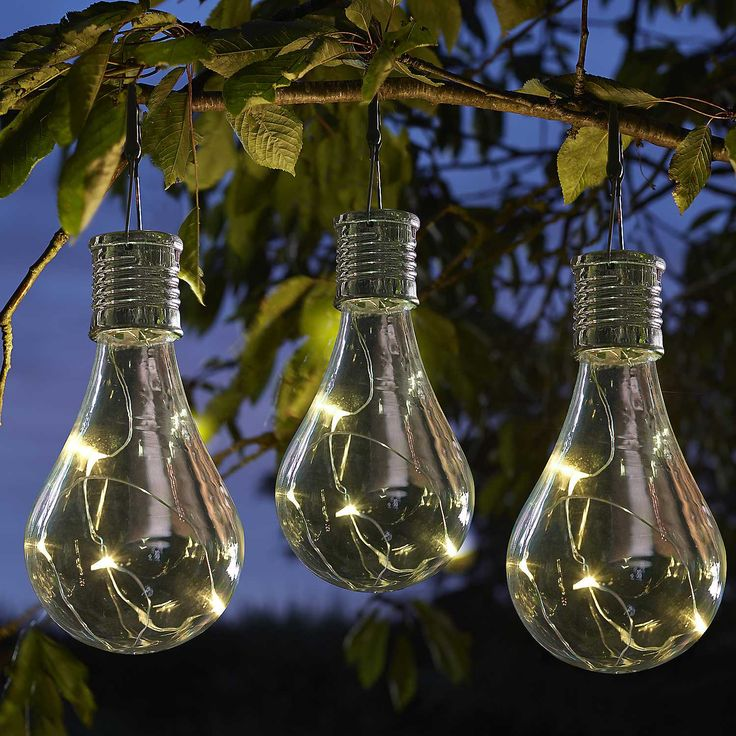 Solar Powered Eureka Light Bulb - Pack of Six