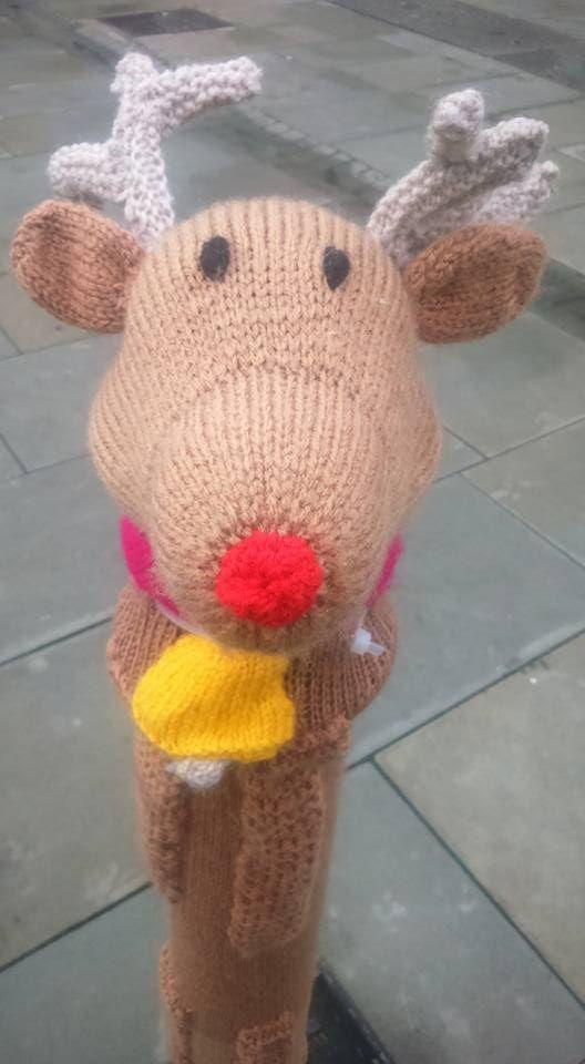 Yarn bomb by Karen