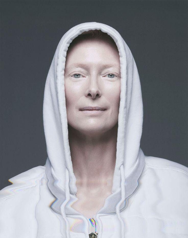 Tilda Swinton by Sølve Sundsbø for OUT magazines' November issue