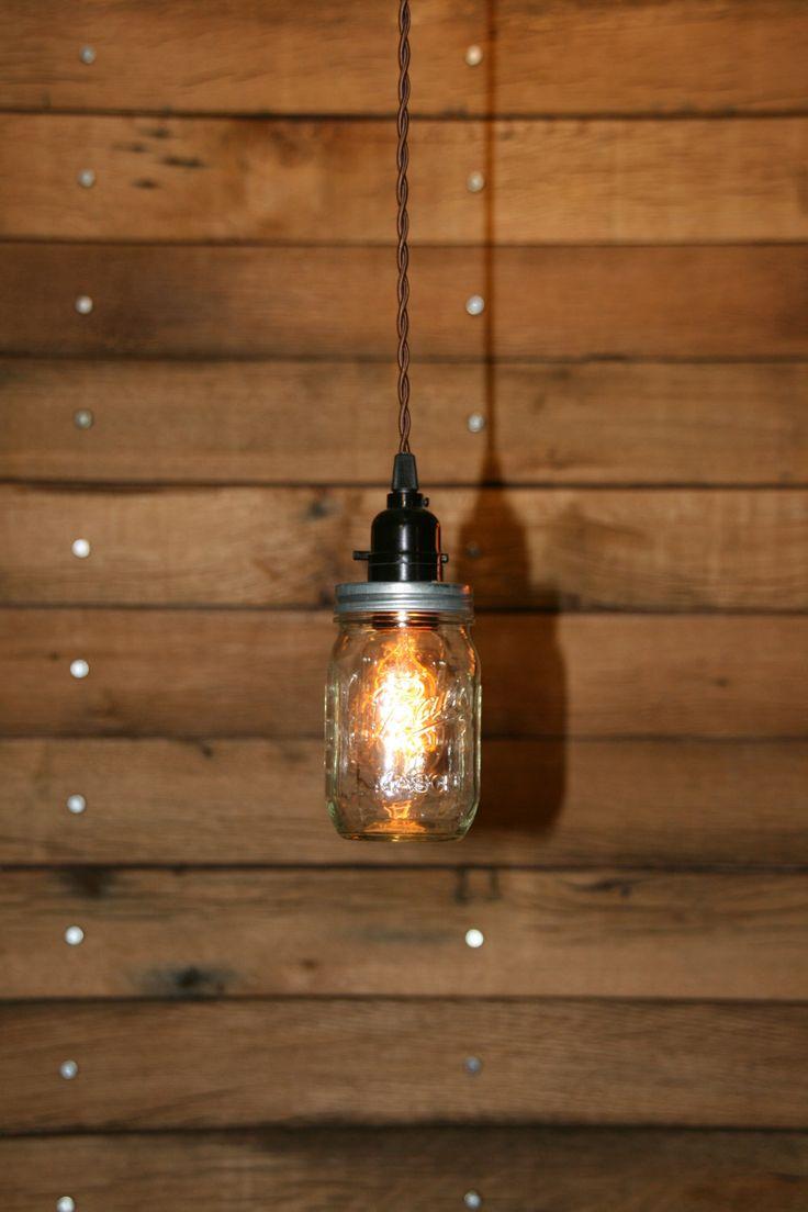 Rope Swag Kitchen Pendant Lighting Over Peninsula