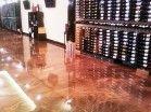 Designer Metallic Epoxy Flooring - Wine Chateau Piscataway, NJ