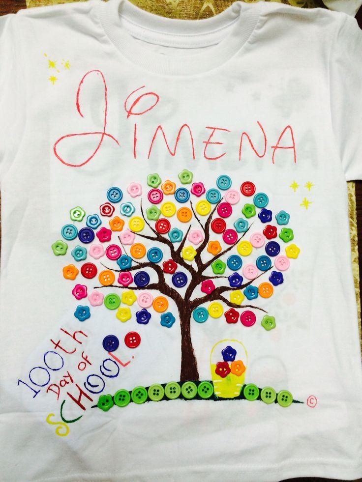 100 days tee shirt