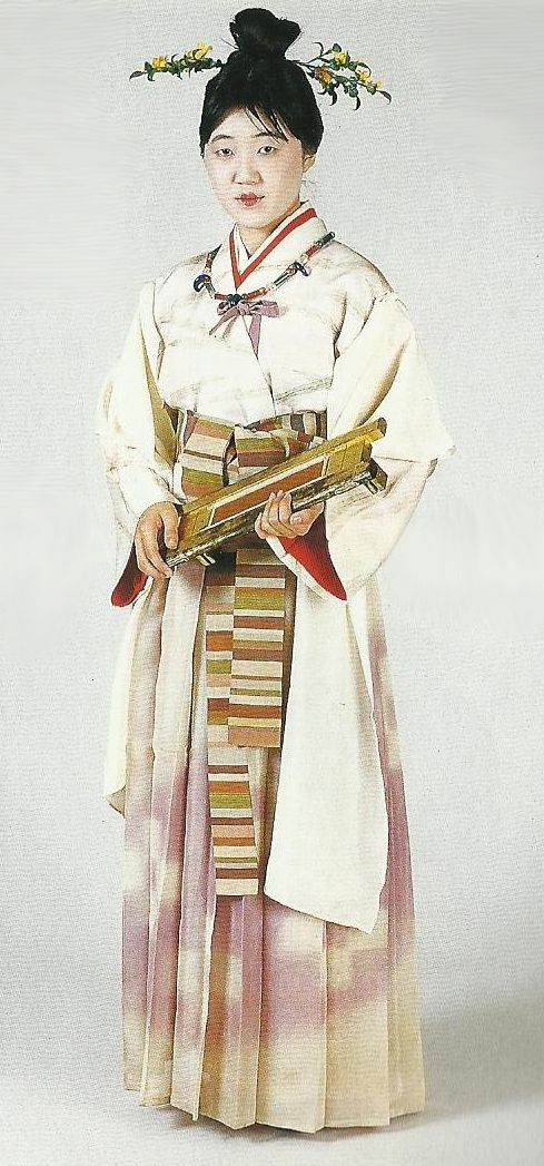 "Weaver of the Kofun Period (3rd to 6th century) , Japan. Scan from book ""The History of Women's Costume in Japan.""  Scanned by Lumikettu of Flickr.  Japanese costume many centuries ago…recreation accomplished in Kyoto during the 1930's.."