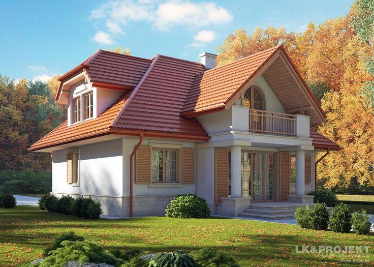 Projekty domów LK&Projekt LK&461 wizualizacja 3