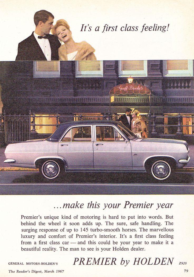 https://flic.kr/p/FfeMwh | 1967 HR Holden X2 Premier Aussie Original Magazine Advertisement