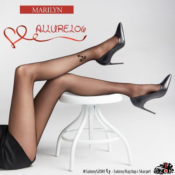 Najważniejsze są detale! #Aksamitne #rajstopy #Allure L06 firmy #Marilyn #podkreślą Twoje #piękne #nogi a #subtelny #wzorek wprowadzi nieco #intrygi! Musisz tego spróbować! Serdecznie Zapraszamy ➡️ #SalonySZOK!