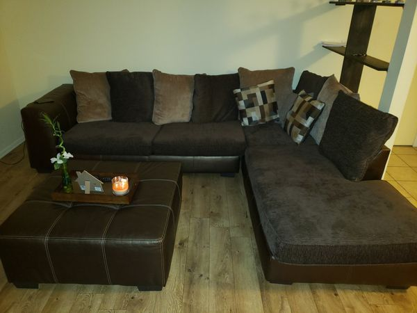 Brown Sectional Couches For Sale In Schaumburg Il Brown