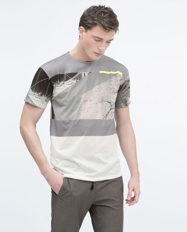 Image 1 de T-shirt à manches courtes de Zara