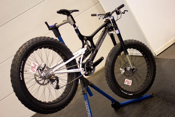 WHAT THE?!? Santa Cruz V10 Fat Bike | Vital MTB