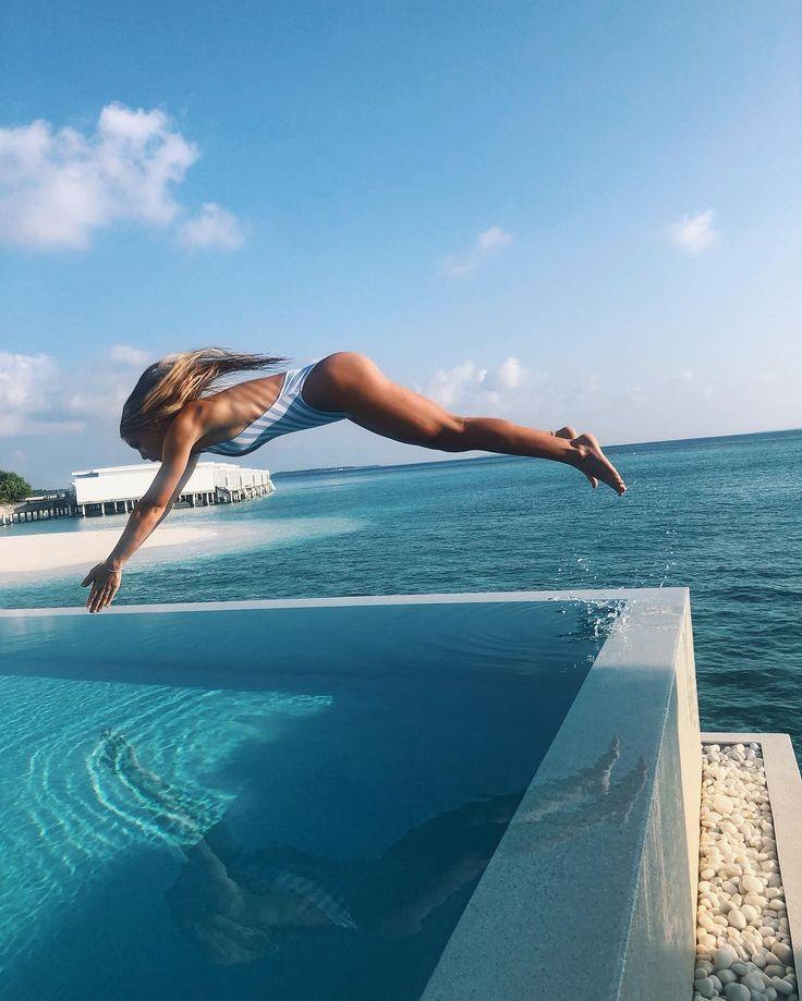 """Jutta Leerdam on Instagram """"Free like a dolphin. 🐬"""" in"""