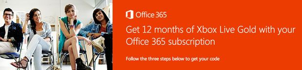 New Office 365 subscriptions get 12 months of free Xbox Live Gold (update: offer available in US)