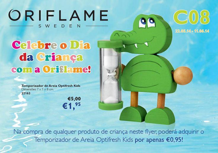 Flyer do Catálogo Oriflame 8 2014