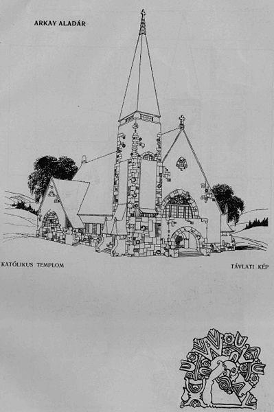 Fájl:Árkay Aladár 04a Katolikus templom.jpg