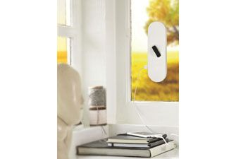 Solar charger that sticks to the window!
