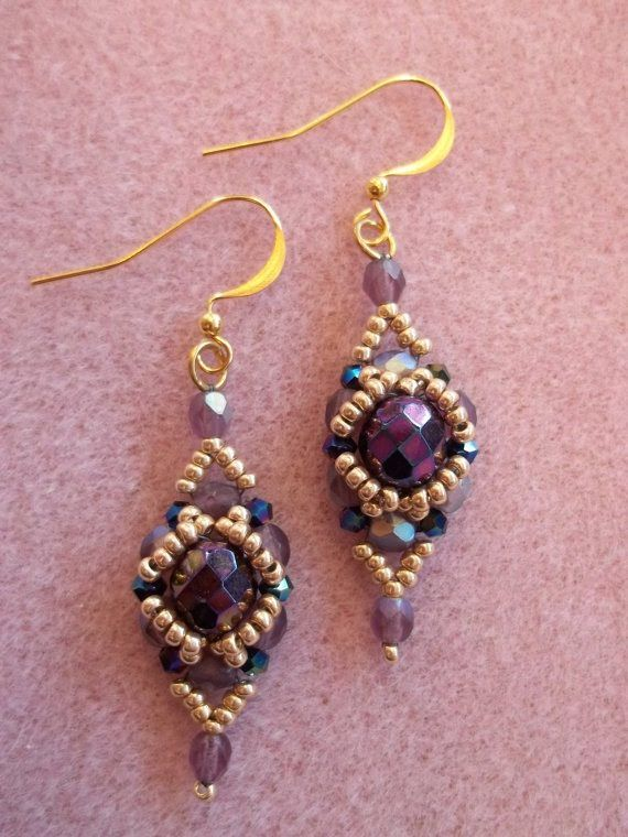 This week, Kelly from Off the Beaded Path in Forest City, North Carolina,is here to show you a new pair of earrings that she came up with. This is a great pr...
