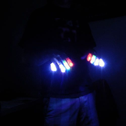 glowpaint - LED Finger Lights, $3.95 (http://www.glowpaint.com.au/led-finger-lights/)
