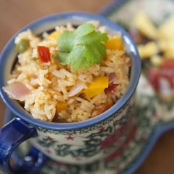 Mexican Rice - Get perfect restaurant style Mexican rice every time