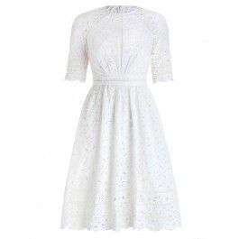 Roza Broderie Day Dress