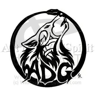 Grande Tatuaggio Lupo Design 2010. celtici del lupo tatuaggi