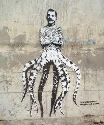 Detailed Stencil Art