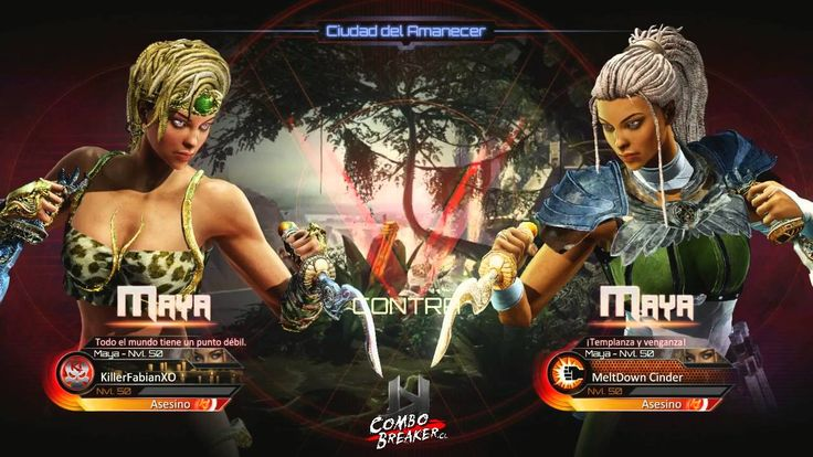KI New Blood Tornament Online - KIllerFabianXO (Maya) vs MeltDown Cinder...