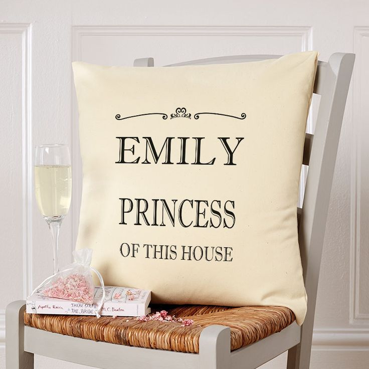 Beautiful💕Personalised Cushions. Easy to Create & Preview On Screen Before You Buy. A perfect gift for any occasion. Fast Free Delivery.