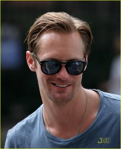 Alexander Skarsgard with Persol sunglasses: http://panaidis.gr/page/default.asp?id=24&la=1&ctID=2&prID=818 #Alexanderskarsgard #persol #sunglasses #panaidiseyewearboutique