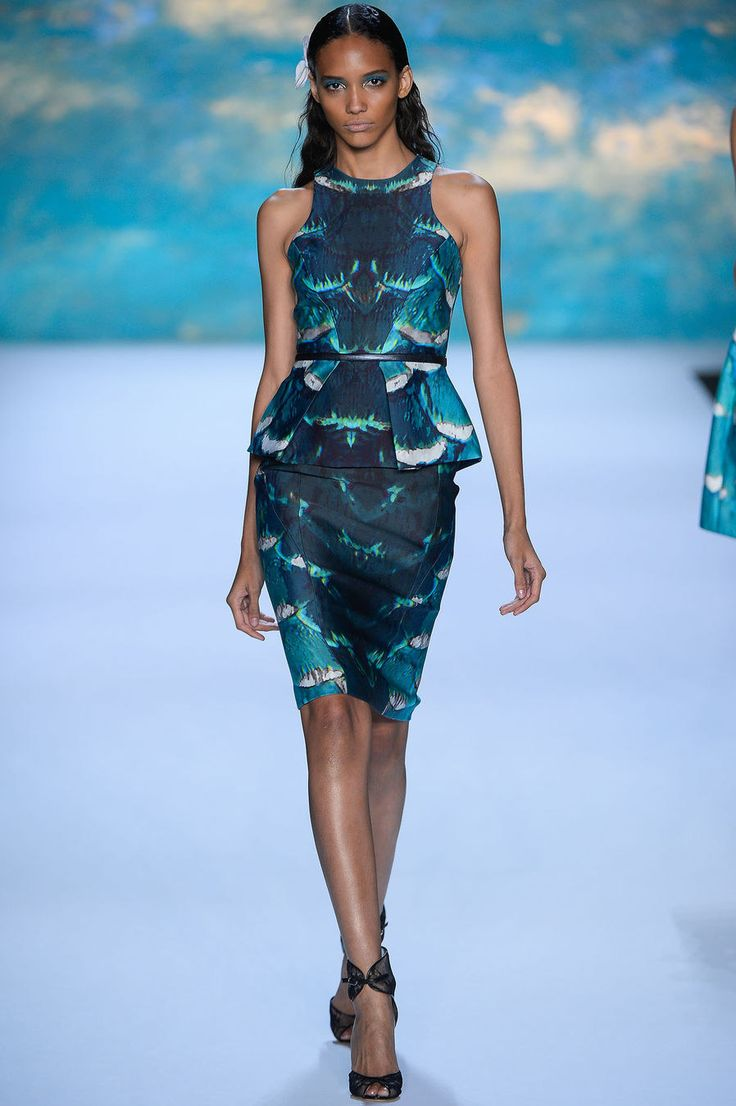 jordan retro 1 low Monique Lhuillier Spring 2013 Ready to Wear Collection Photos   Vogue