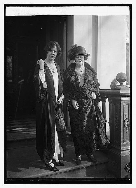 Alice Paul & Mrs. O.H.P. Belmont (17 Nov 1923) . Alva Belmont and Alice Paul founded the National Woman's Party and championed women's  suffrage and the 19th Amendment. Alva was president of the NWP from 1917 until her death in 1933. They likely served to inspire Consuelo, Duchess of Marlborough's support for similar efforts in Britain.