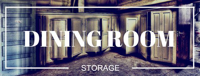 #diningroom #storage