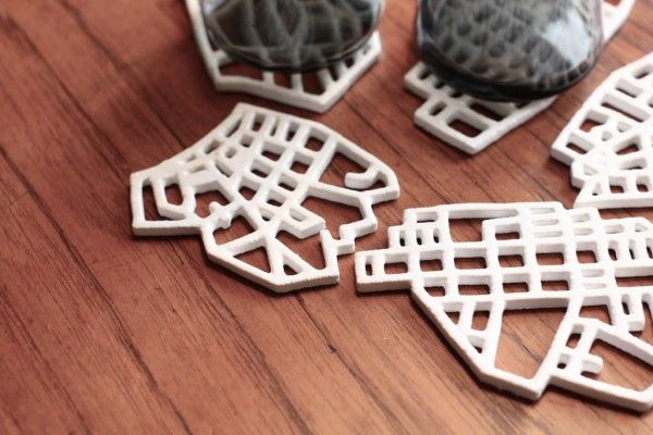 Ceramic city grids