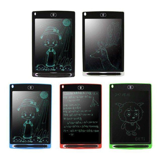 "8.5/"" Creative Digital LCD Writing Tablet Notepad Painting Board Drawing Pad"