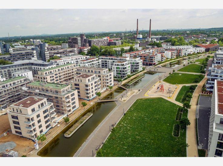 Wo einst der Großmarkt war, steht heute das neue Univiertel am zentral gelegenen Berliner Platz.