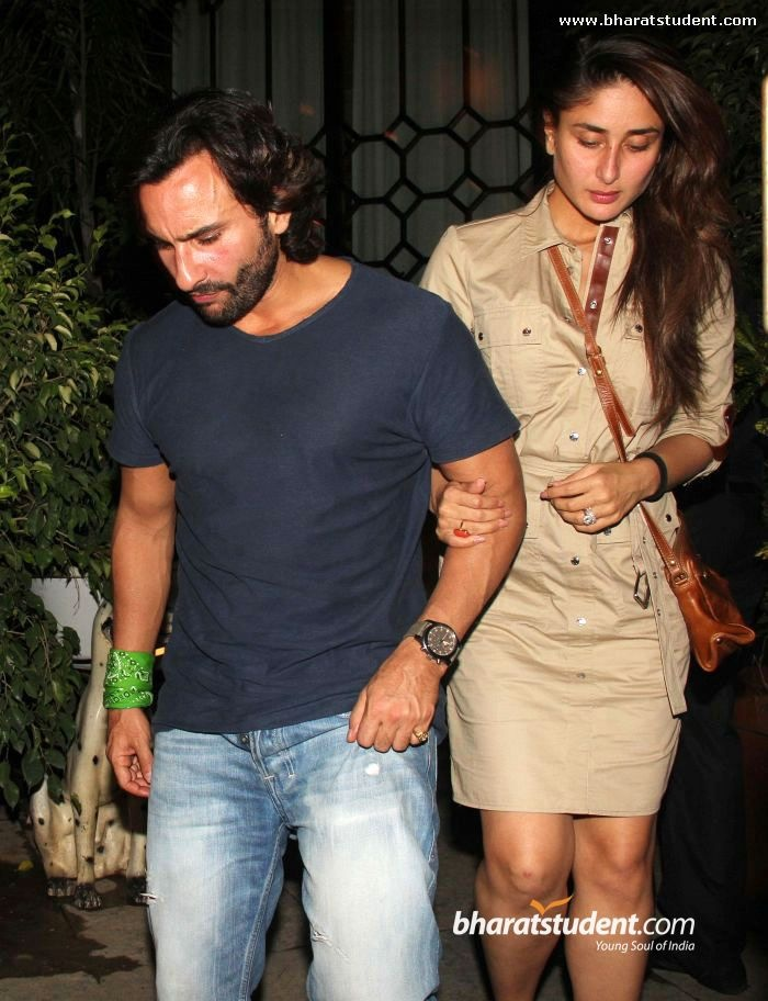 Saif Ali Khan & Kareena Kapoor Snapped