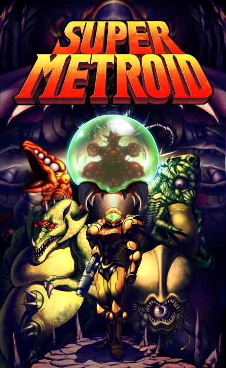 Super Metroid by イドンさん I frikin LOVE this game
