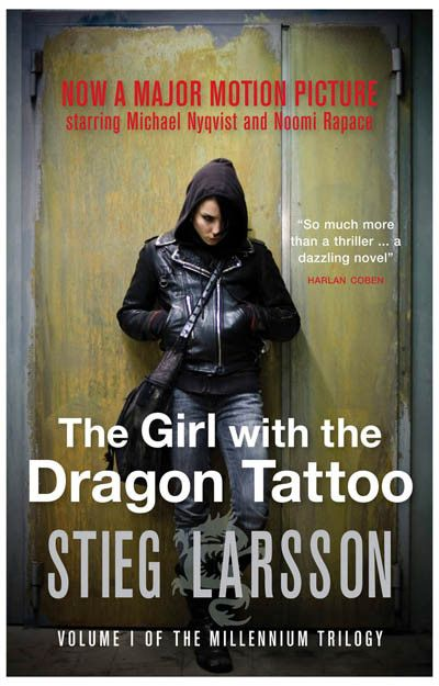 A great poster for the 2009 film adaptation of Stieg Larsson's The Girl with the Dragon Tattoo - the first installment of the Millennium Trilogy - starring Noomi Rapace! Ships fast. 11x17 inches.
