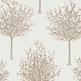 Bloomsbury Cream & Green Nature Glitter Highlight Wallpaper | Departments | DIY at B&Q