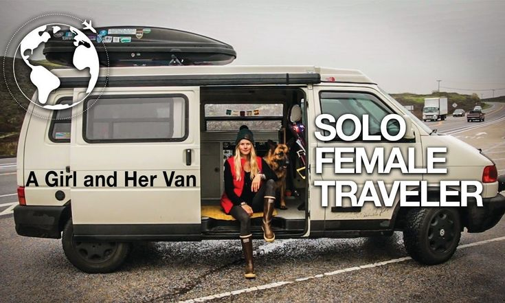 Alex is a solo female traveler that lives and travels with her dog in her VW Eurovan named Penny